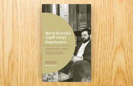 Mario Onaindia (1948-2003). Biografía patria