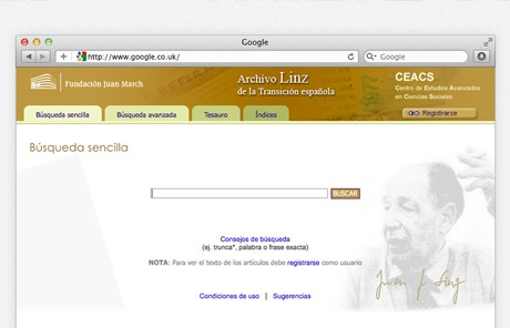 Archivo Linz de la Transición española