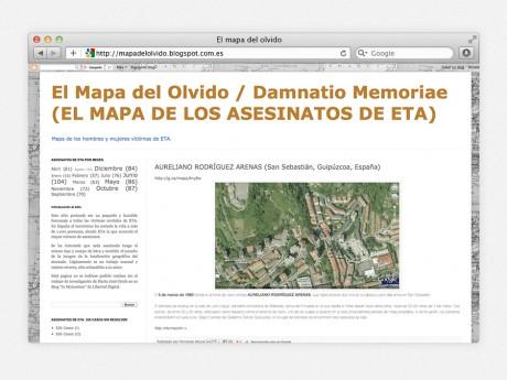 El Mapa del Olvido / Damnatio Memoriae