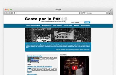 Archivo de Gesto por la Paz