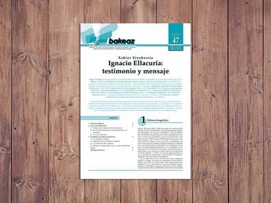 Ignacio Ellacuría: testimonio y mensaje