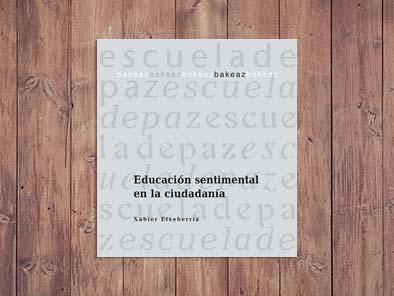 Educación sentimental en la ciudadanía