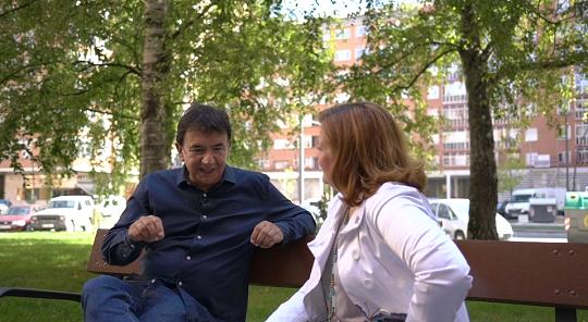 Conversación entre Ángel Altuna y Cristina Cuesta